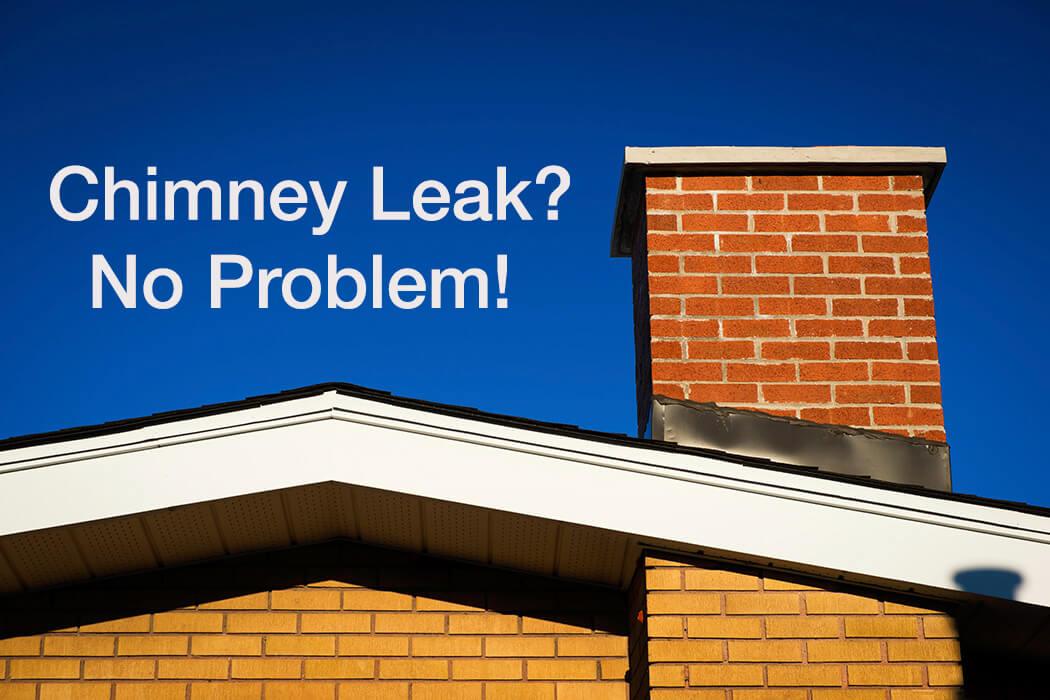 Diy Chimney Leak Repairs With Echotape