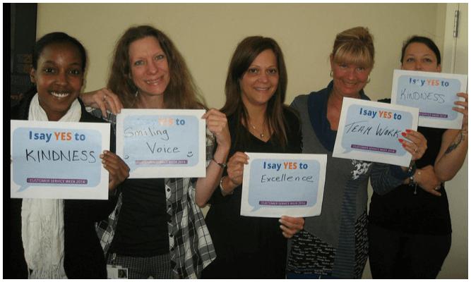 Celebrating Customer Service Recognition Week at ECHOtape   via TAPED, the ECHOtape blog