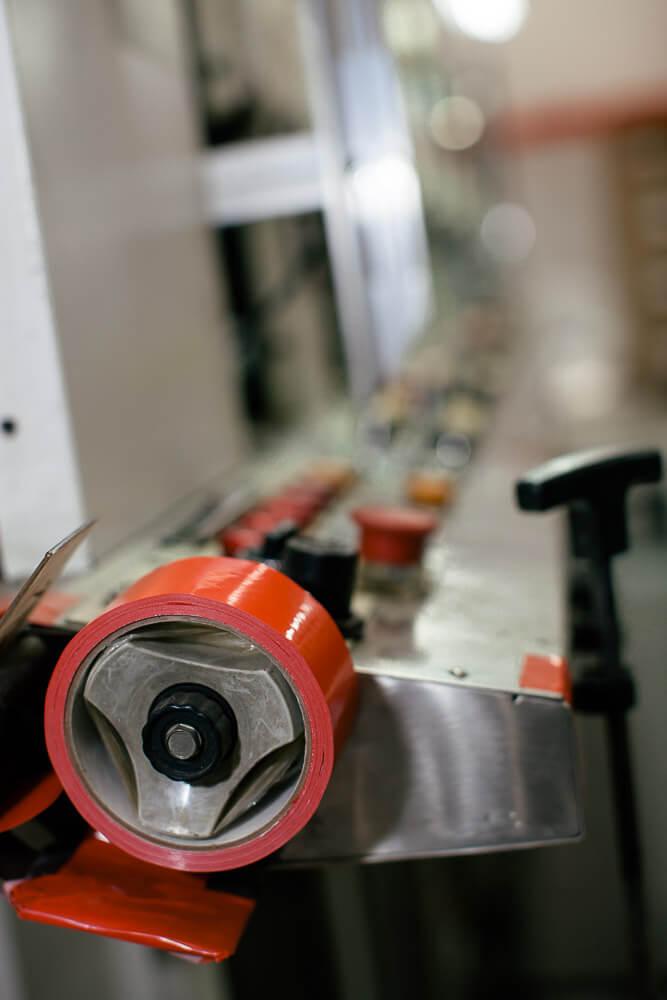 Pazazz uses PV-V6501 splicing tape.