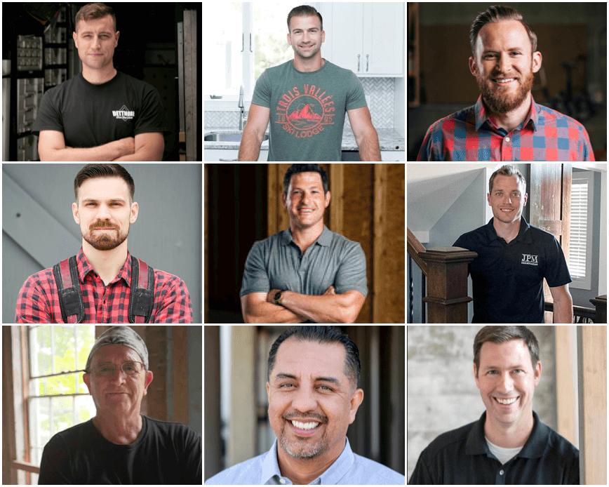 Best Builders and Remodelers on Instagram | via ECHOtape.com
